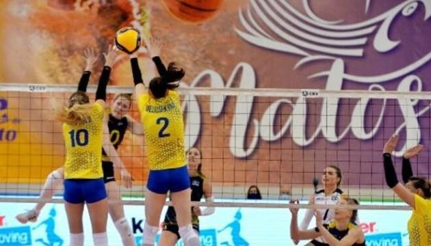 Жіноча збірна України з волейболу програла Словаччині в Золотій Євролізі