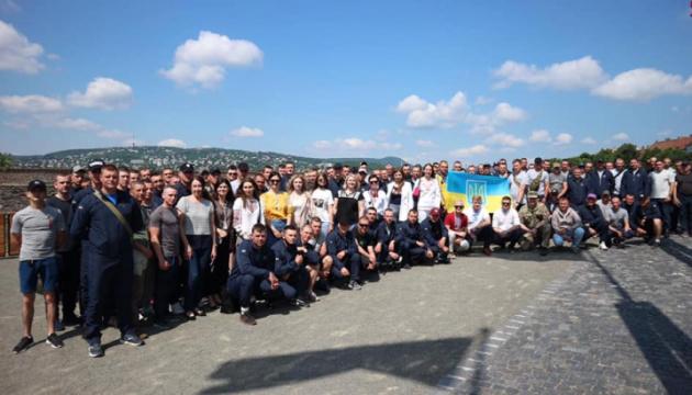Українська громада Угорщини зустрілася з військовими ЗСУ