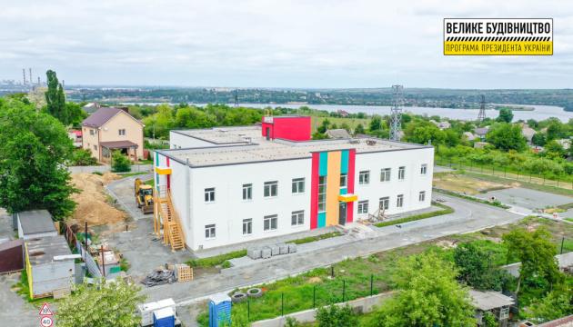 На Днепропетровщине строят 4 новых детсада
