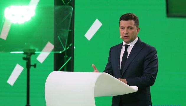 Гібридні загрози демократії: Зеленський на міжнародному форумі розповів про боротьбу з корупцією