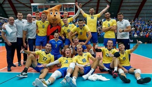 Сборная Украины по волейболу сыграет против Бельгии в полуфинале Золотой Евролиги
