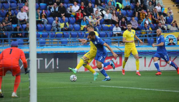 Збірна України розгромила Кіпр у контрольному матчі