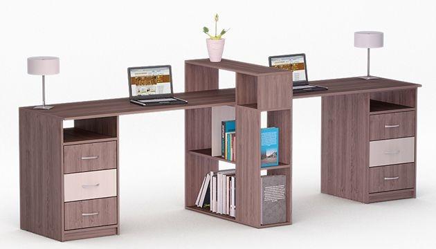 Письмові столи для двох дітей
