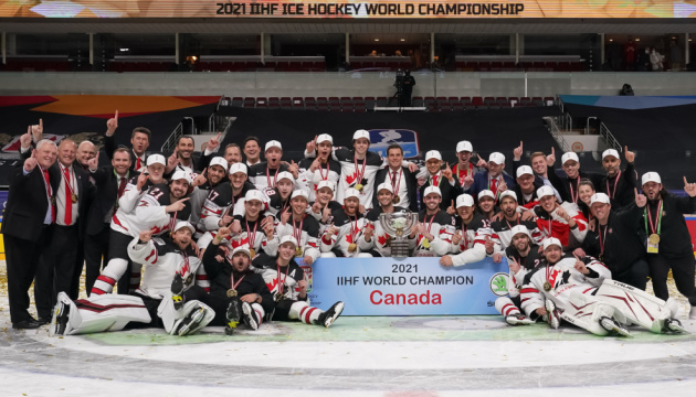 Хокей: Канада очолює рейтинг IIHF, Україна - 27-а