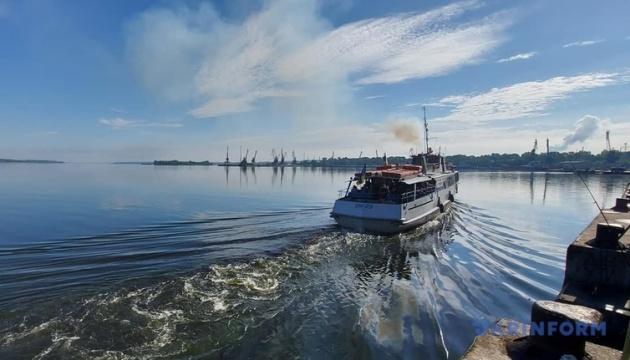 У Запоріжжі стартувала «дачна» річкова навігація