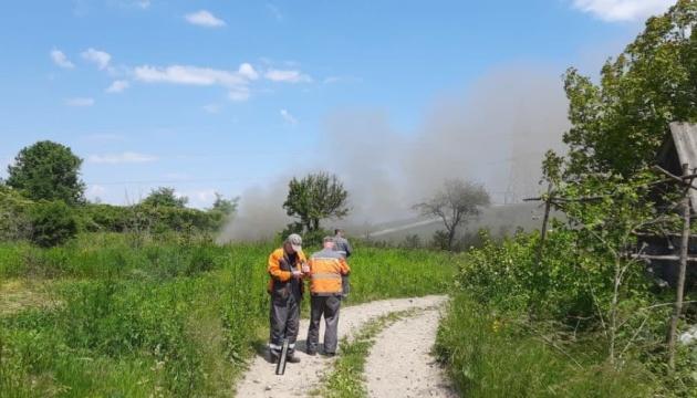 На Прикарпатье произошла разгерметизация магистрального газопровода