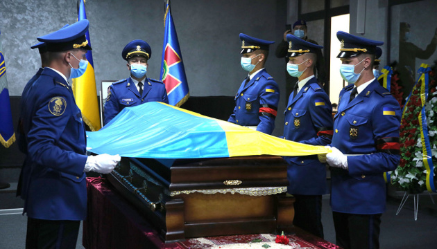 У Києві попрощалися із заступником командира окремого загону «Азов» Павлюком