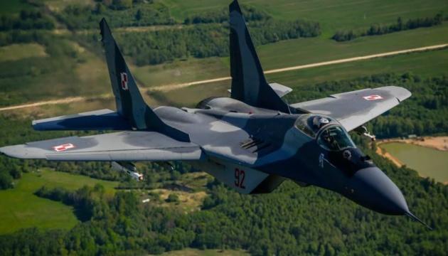 У Польщі МіГ-29 помилково обстріляв інший винищувач