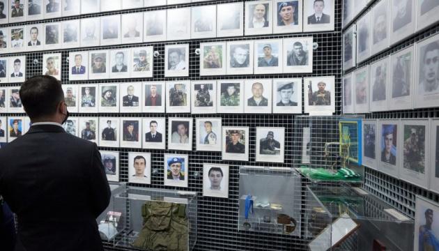 Зеленський у Дніпрі відвідав музей, присвячений подвигу захисників України