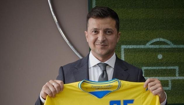 Зеленський оцінив перший виступ збірної України на Євро-2020