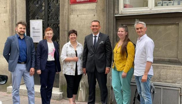 Очільники українських організацій зустрілися з посадовцями міськради Кракова