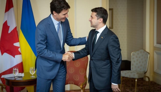 Zelensky trata con Trudeau situación en el este de Ucrania e investigación sobre el accidente del avión de la UIA