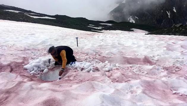 Вчені розкрили секрет «крові льодовиків» в Альпах
