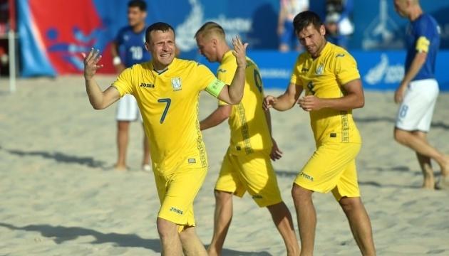 Збірна України з пляжного футболу двічі обіграла Молдову