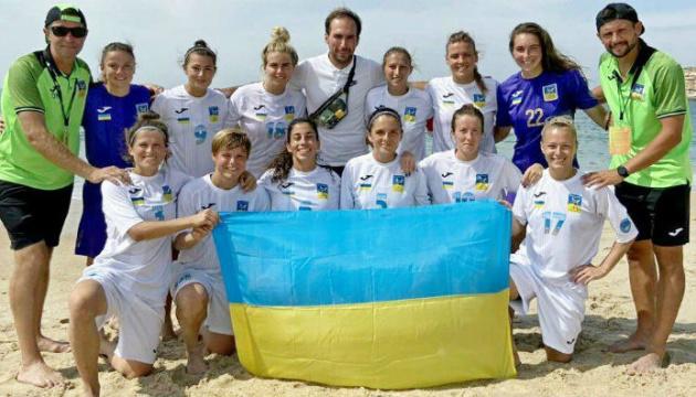 Жіноча збірна України з пляжного футболу уперше виступить у Євролізі