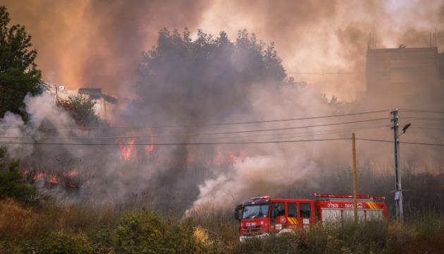 Біля Єрусалима вирує пожежа – готують масштабну евакуацію