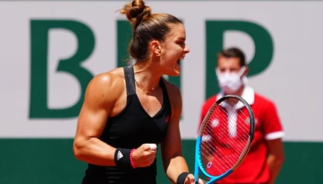 Определились полуфинальные пары в женском одиночном разряде Ролан Гаррос