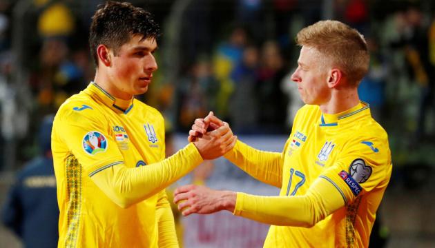 Футболісти збірної України не увійшли в топ-100 найдорожчих гравців Євро-2020