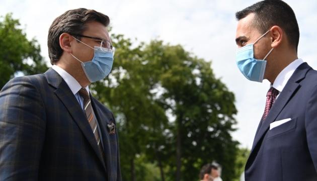 Kuleba asks Italy to open its borders to Ukrainian tourists