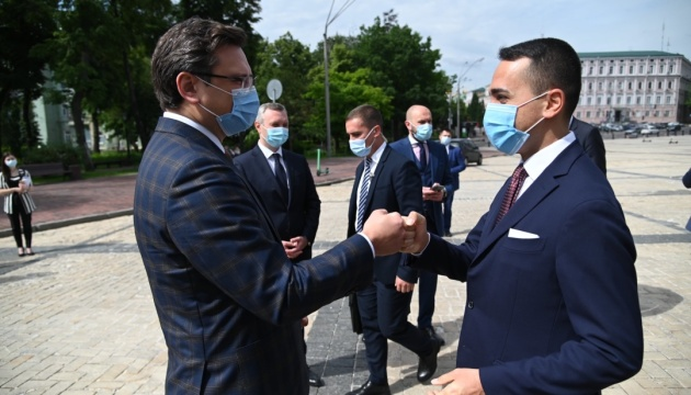 Di Maio: Italia apoya las aspiraciones europeas de Ucrania