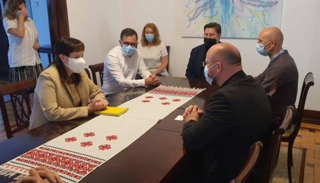 У Португалії душпастир УГКЦ зустрівся з представниками діаспори та посольства