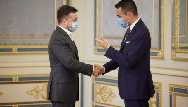 Zelensky se reúne con el ministro italiano de Asuntos Exteriores