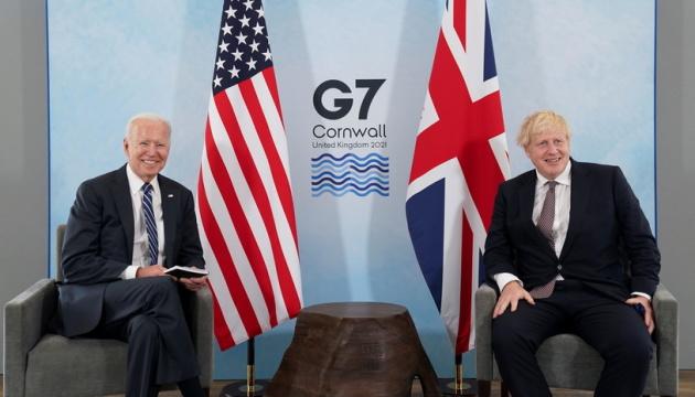 Байден обговорив із Джонсоном питання Афганістану, Китаю, Ірану та Росії