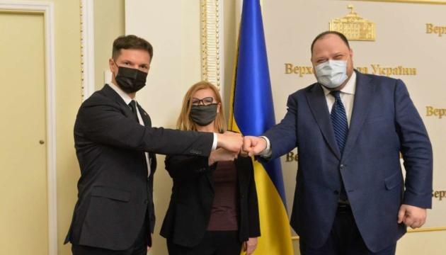 Стефанчук розраховує на допомогу Польщі та Литви у питанні отримання ПДЧ у НАТО