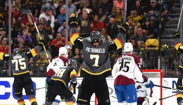 НХЛ: «Вегас» обіграв «Колорадо» і вийшов у третій раунд Кубка Стенлі