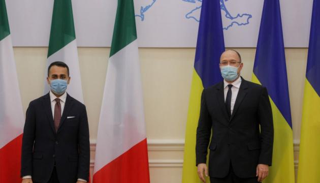 Shmyhal invites Italian business to invest in Ukrainian economy