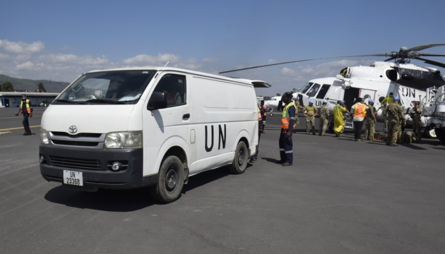 У Конго українські миротворці повертають людей додому після виверження вулкана