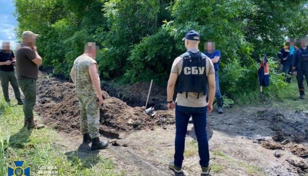На Харьковщине СБУ ликвидировала врезку в магистральный трубопровод
