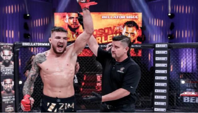 Українець Амосов битиметься за титул чемпіона Bellator