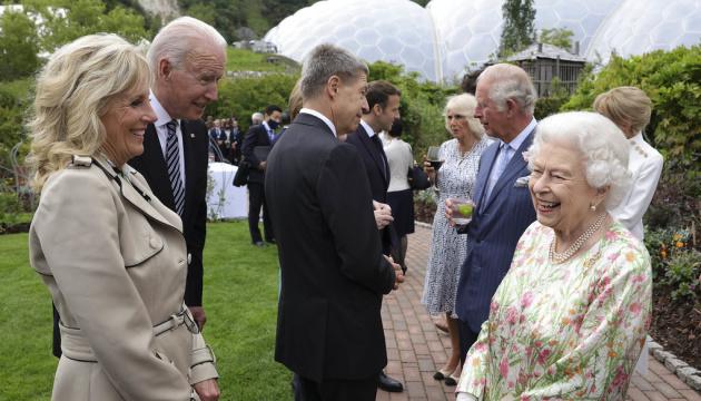 Єлизавета II зустрілася з лідерами «Великої сімки»