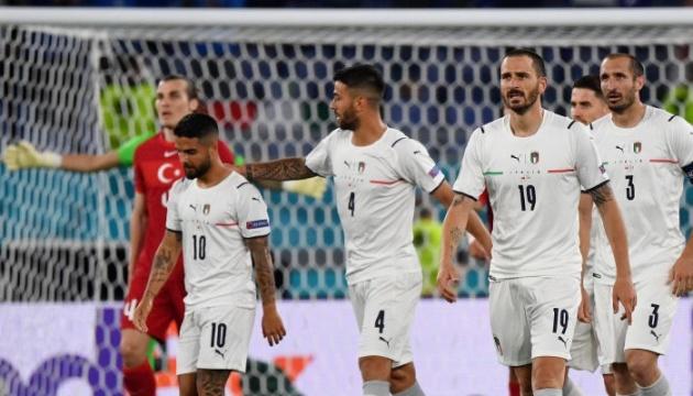 Италия разгромила Турцию на старте футбольного Евро-2020