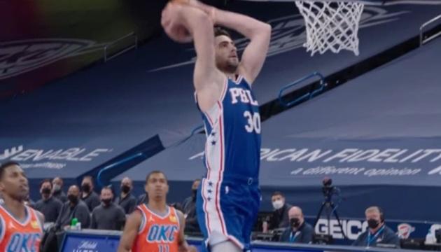 НБА: «Филадельфия» вышла вперед в серии с «Атлантой»