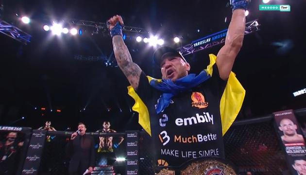 Amosov, el primer campeón ucraniano del torneo Bellator