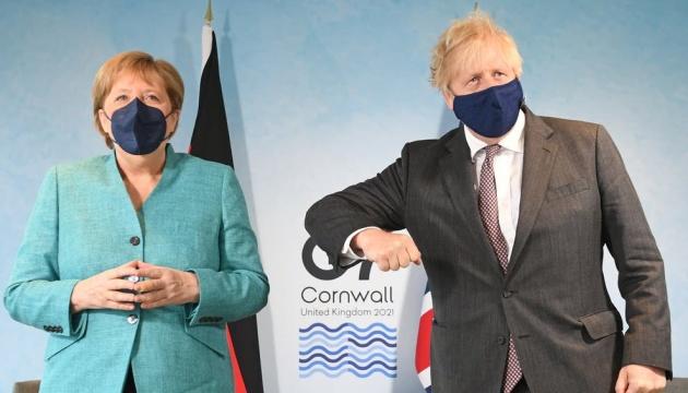 Джонсон зустрівся з Меркель, Макроном та фон дер Ляєн: про що говорили