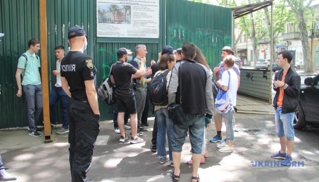 В Одесі проходить акція проти знесення «Друкарні Фесенка»