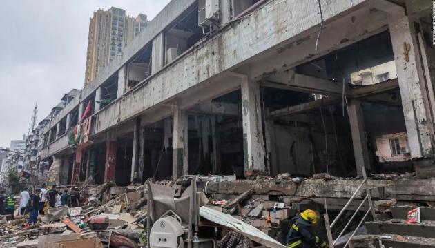 У Китаї стався масштабний вибух газу, 12 загиблих