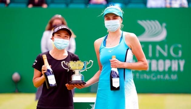 Людмила Кіченок виграла парний турнір WTA 250 у Ноттінгемі