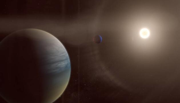 Две гигантские экзопланеты обнаружили возле звезды, похожей на Солнце