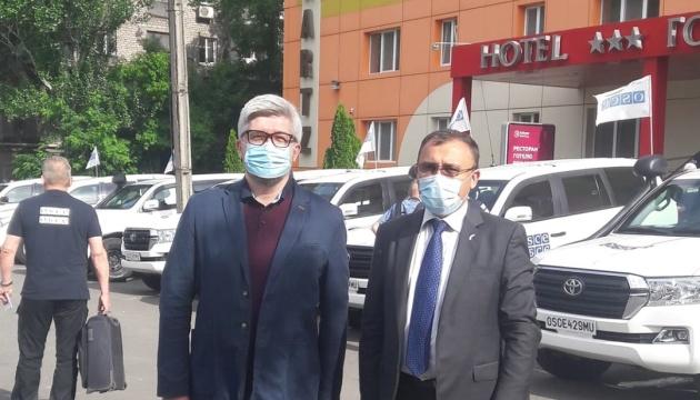 Голова ОБСЄ розпочне візит до України з Маріуполя