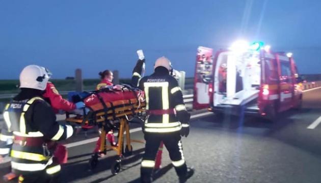 Аварія мікроавтобуса у Румунії: загинули двоє українців, ще двоє – у тяжкому стані