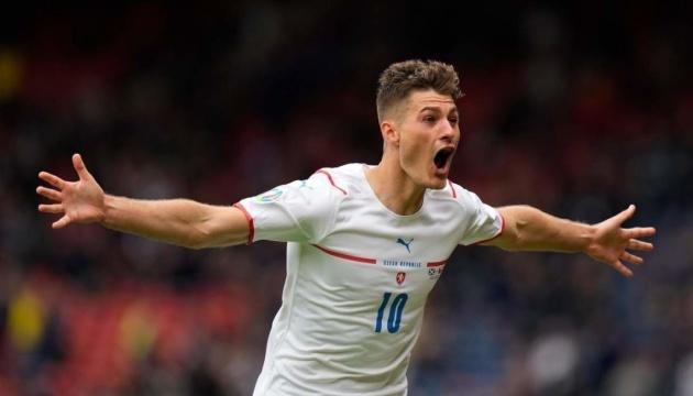 Чехия победила в Глазго Шотландию в матче Евро-2020