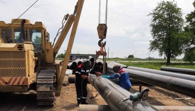 На границе с Польшей обновляют магистральный газопровод