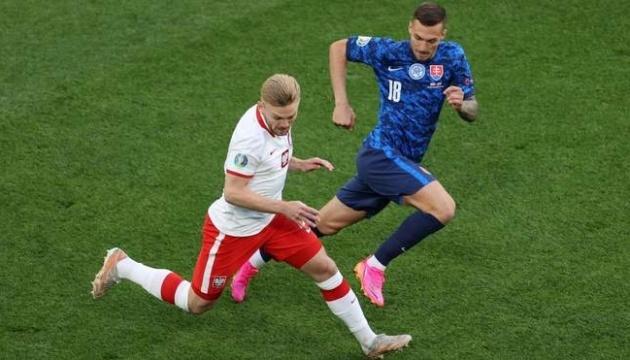 Словаччина перемогла Польщу в матчі футбольного Євро-2020