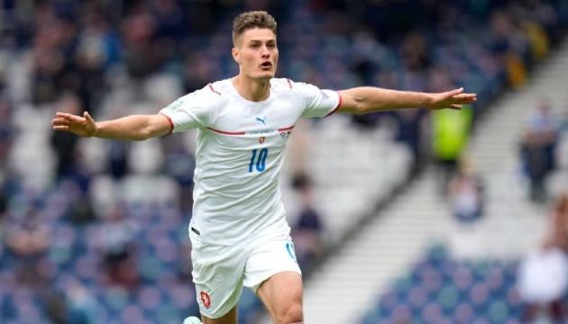 Шик визнаний кращим гравцем матчу Шотландія - Чехія: він забив з центру поля