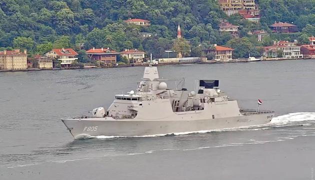 Посол в Нидерландах: Военные корабли в Черном море - проявление солидарности на фоне агрессии РФ