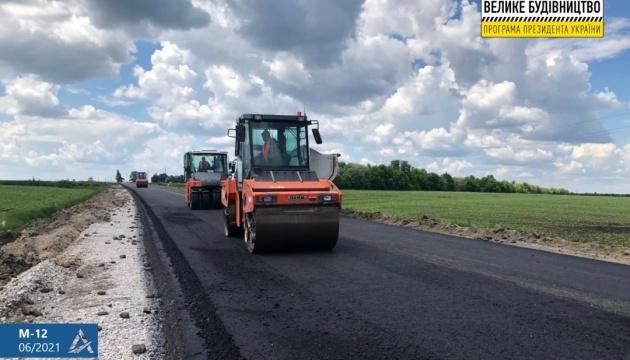 Укравтодор цьогоріч відремонтує 600 кілометрів дороги Стрий – Ізварине